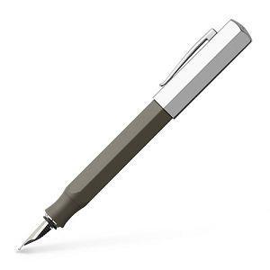 Faber-Castell輝柏 ONDORO系列 鋼筆EF尖-霧銀灰
