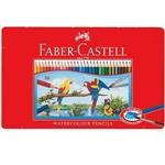 Faber-Castell 輝柏 115937 水性色鉛筆紅色精緻鐵盒裝36色組