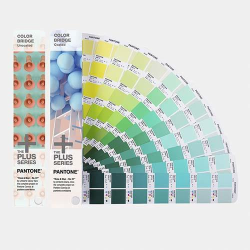 PANTONE GP6102N 色彩橋樑 - 銅版紙 & 模造紙套裝 COLOR BRIDGE Coated & Uncoated Set