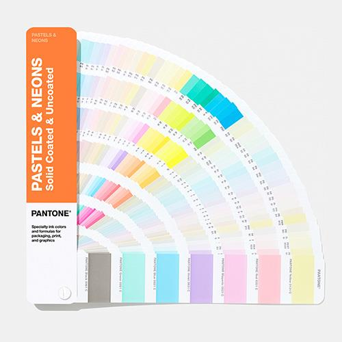 PANTONE GG1504A 粉彩螢光色彩指南 | 光面銅版紙 & 膠版紙