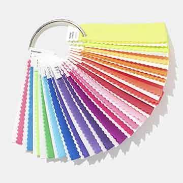 PANTONE FFN100 F+H系列 紡織色票布版 - 螢光尼龍布 Nylon Brights