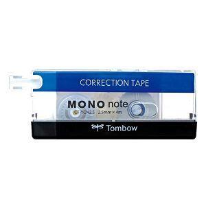 TOMBOW MONO系列 CT-YCN2.5手帳專用極細修正帶(經典款)