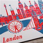 【iPaper】ditto ditto 活版印刷 明信片 活版印刷明信片 -倫敦 PC1402