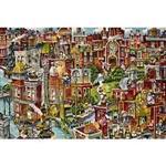貓咪城市(作者:Bill Bell) 1000P拼圖