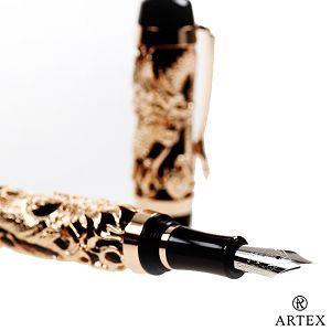 ARTEX 封印龍鋼筆-玫瑰金(客製化刻字)