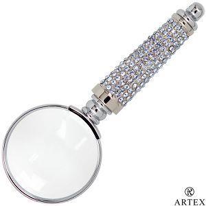 ARTEX 施華洛世奇元素 耀動水鑽放大鏡-典雅藍(客製化刻字)