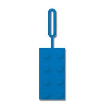 LEGO積木造型識別吊牌 - 藍色