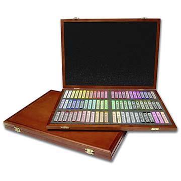 韓國 MUNGYO MPL-72W 專家級 半硬式 粉彩筆 色粉棒 72色 精裝木盒