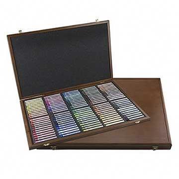 韓國 MUNGYO MPL-96W 專家級 半硬式 粉彩筆 色粉棒 96色 精裝木盒