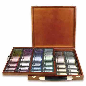 韓國 MUNGYO MPA-160W 專家級 軟粉彩筆 粉彩棒 (圓) 160色 精裝木盒