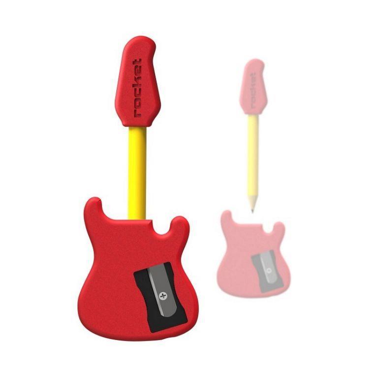 【義大利 Rocket】吉他造型削鉛筆組