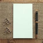 大包裝!介紙1.0 (鋼筆適用紙) / 48K空白散紙特惠組-10入組