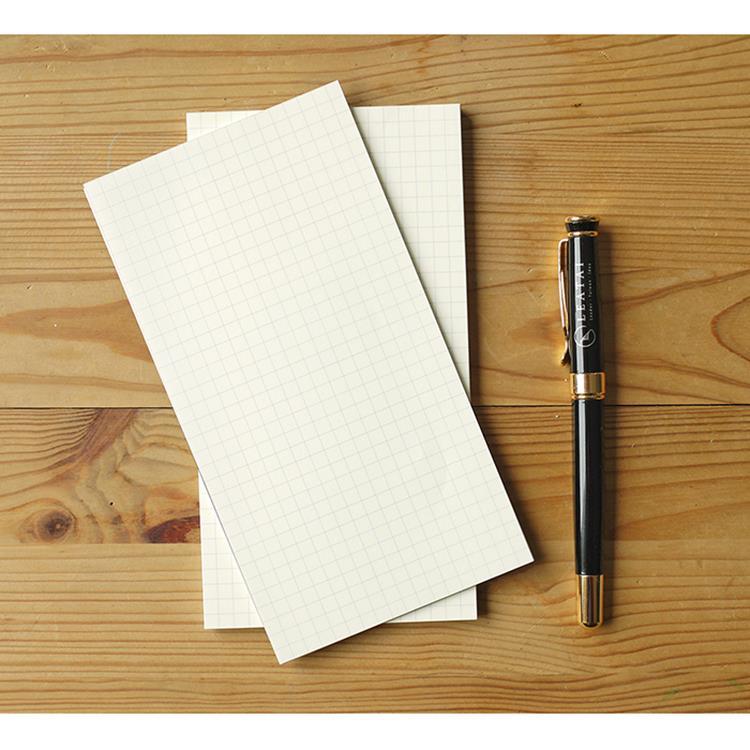 大包裝!介紙1.0 (鋼筆適用紙) / 48K方格散紙特惠組-10入組