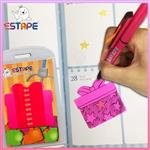 【ESTAPE】Memo造型隨手卡(桃紅-禮物)