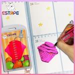 【ESTAPE】Memo造型隨手卡(桃紅-冰淇淋)
