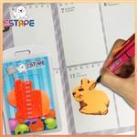 【ESTAPE】Memo造型隨手卡(橙-兔子)