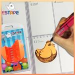 【ESTAPE】Memo造型隨手卡(橙-母雞)