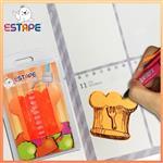 【ESTAPE】Memo造型隨手卡(橙-廚師帽)