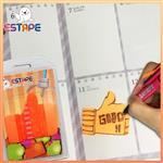 【ESTAPE】Memo造型隨手卡(橙-讚)