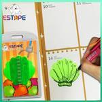 【ESTAPE】Memo造型隨手卡(綠-貝殼)