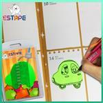 【ESTAPE】Memo造型隨手卡(綠-汽車)