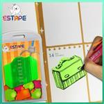 【ESTAPE】Memo造型隨手卡(綠-公事包)