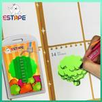 【ESTAPE】Memo造型隨手卡(綠-大樹)