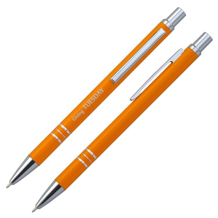 【IWI】Message Pen信息筆 0.5mm藍色油性原子筆-單支裝-橘