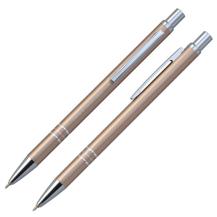 【IWI】Message Pen信息筆 0.5mm藍色油性原子筆-單支裝-金