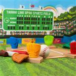 【允拓】棒球橡皮擦組 (3手套+4球棒+1本壘板+3壘包)