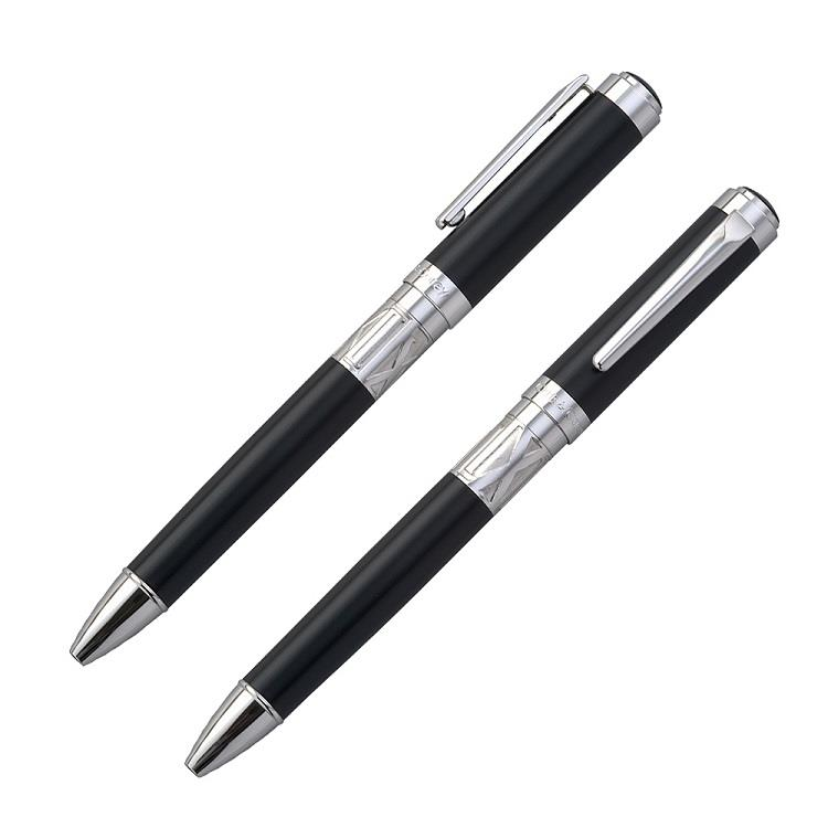 【Chris&Carey】Toki 時系列/素面黑色原子筆(客製化刻字)