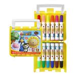 【雄獅】奶油獅12色彩色筆 (外盒黃.紅.藍三色隨機出)