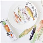 生鮮聯盟水彩風格盒裝書籤30入