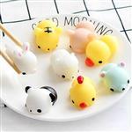矽膠麵團小動物捏捏樂解壓玩具