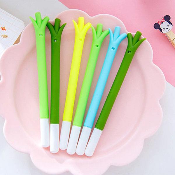 韓版可愛青蔥造型中性筆/水性筆