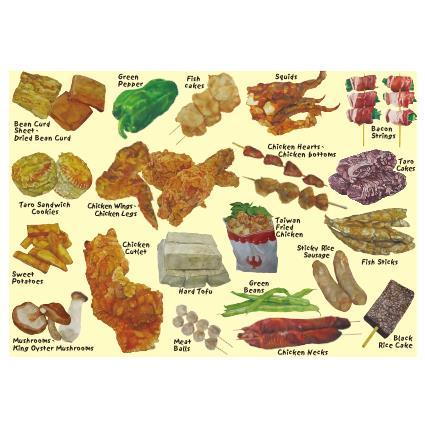 我愛台灣明信片●鹽酥雞