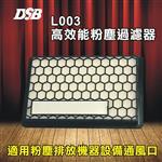 [迪士比DSB] L003 粉塵過濾器 立可貼 粉塵過濾器 個人電腦專用 (2入裝)