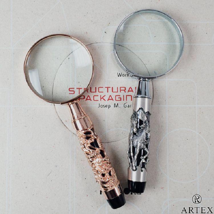 ARTEX 12生肖放大鏡 玫瑰金龍