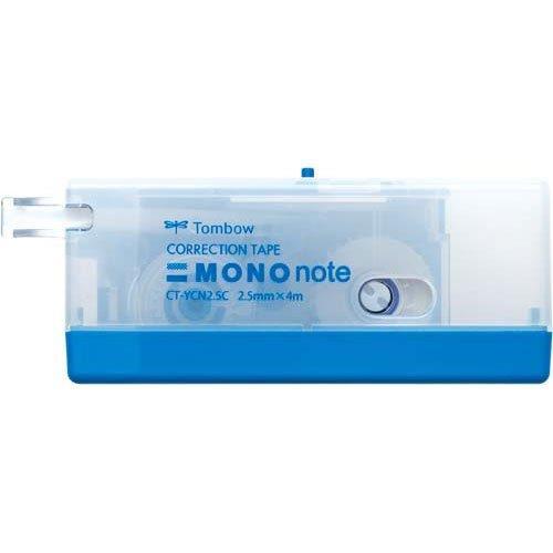 限量!TOMBOW MONO系列 CT-YCN2.5手帳專用極細修正帶(藍色)