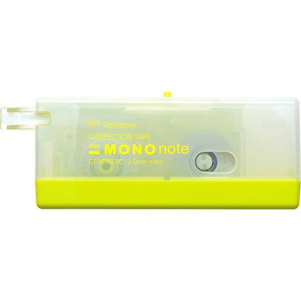 限量!TOMBOW MONO系列 CT-YCN2.5手帳專用極細修正帶(綠色限定款)