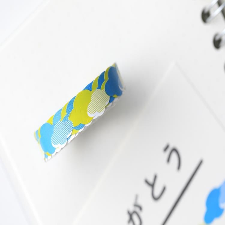 WAMONO日本製蕾絲膠帶「開心朵朵」