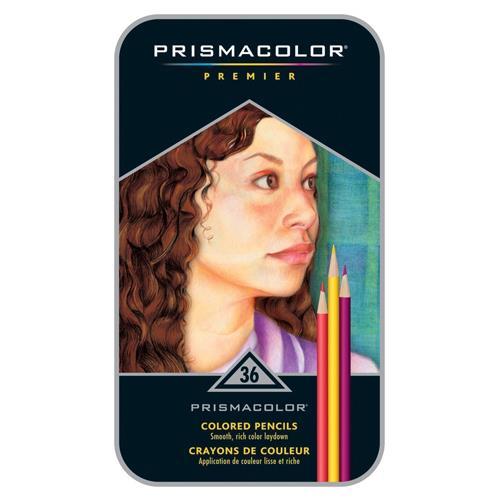 美國 Prismacolor Premier 頂級軟芯 油性 色鉛筆 36色