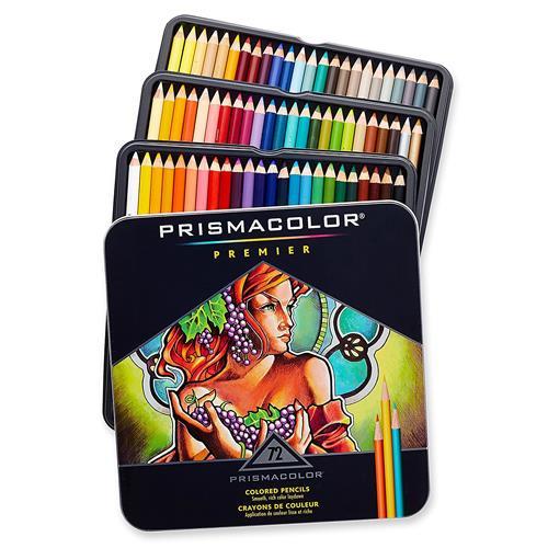 美國 Prismacolor Premier 頂級軟芯 油性 色鉛筆 72色