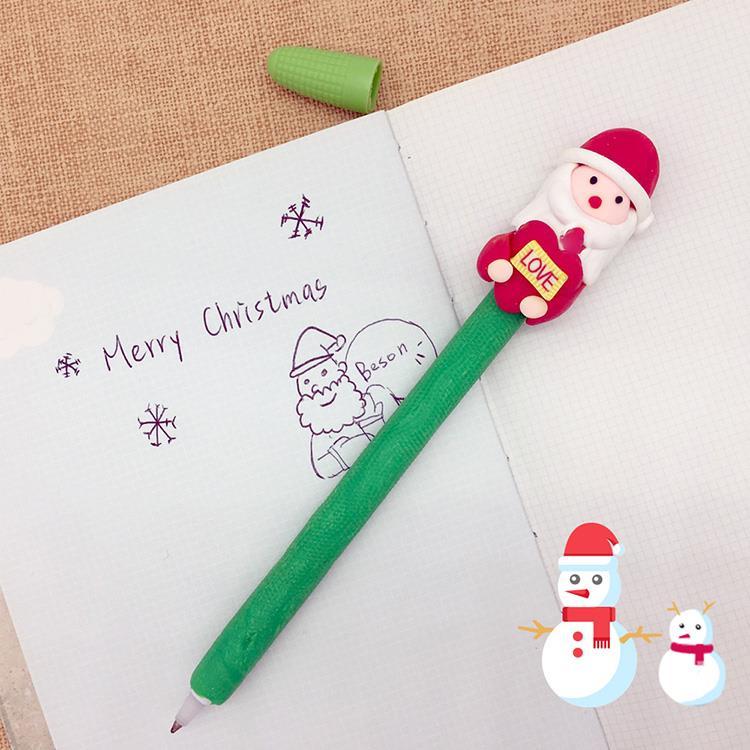 *聖誕氣息*可愛手工公仔造型 原子筆_愛老公