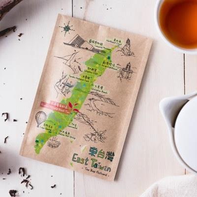 【七三茶堂】茶包明信片-花蓮蜜香紅茶(東台灣) 賞味期至2019.03.30