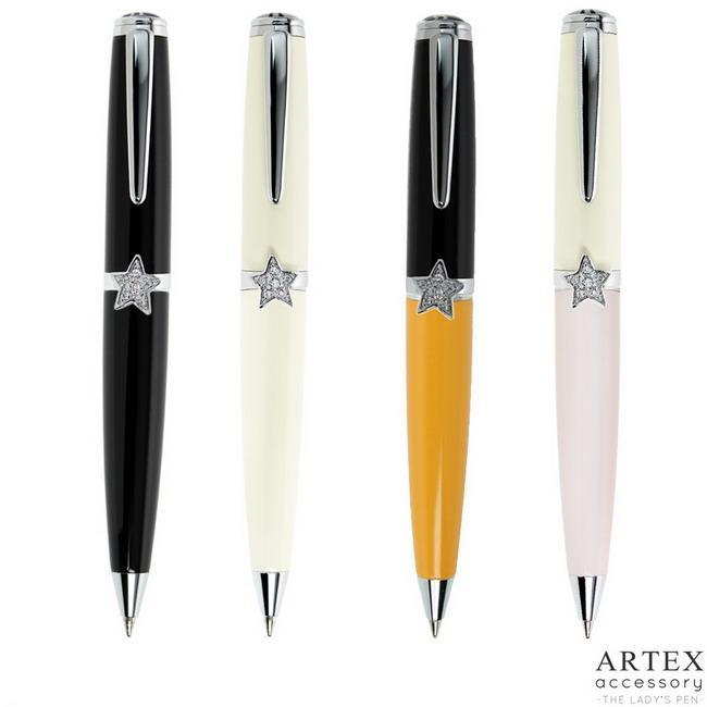 ARTEX accessory星星原子筆-米白