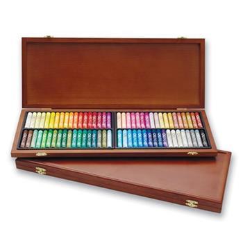 韓國 MUNGYO MOP-72W 專家級 中粗 油蠟筆 油畫棒(圓) 72色 精裝木盒