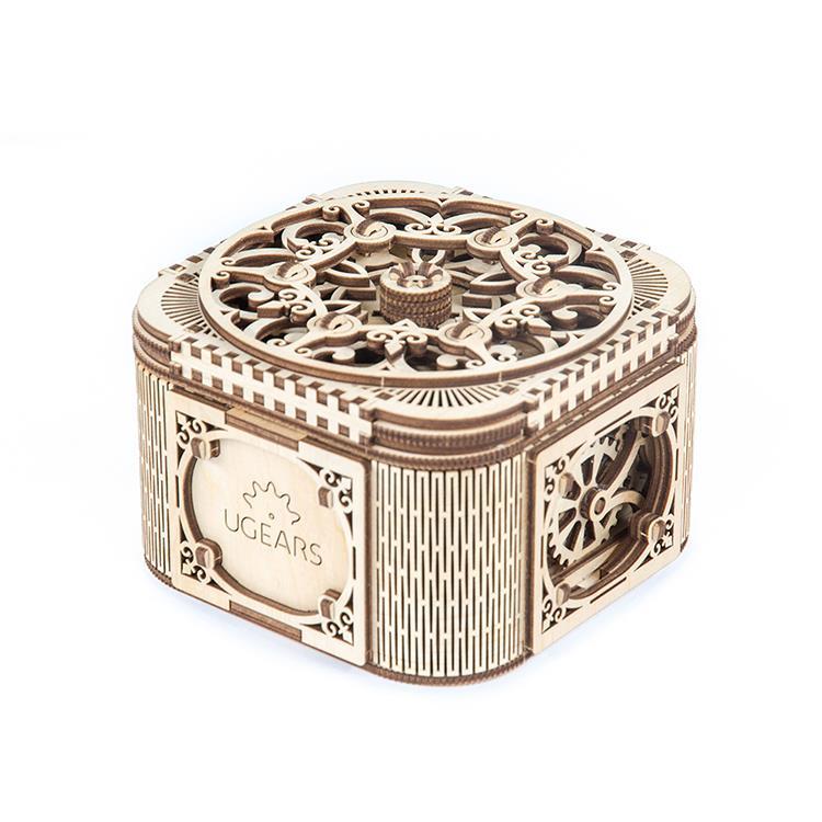Ugears 自我推進模型 (Treasure box 珠寶盒)