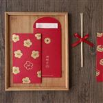 信的戀人可愛系列滿滿圖案燙金紅包袋-年年有餘(6入)