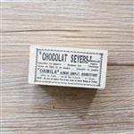 木質橡膠印章 04.張貼海報-舊報紙系列